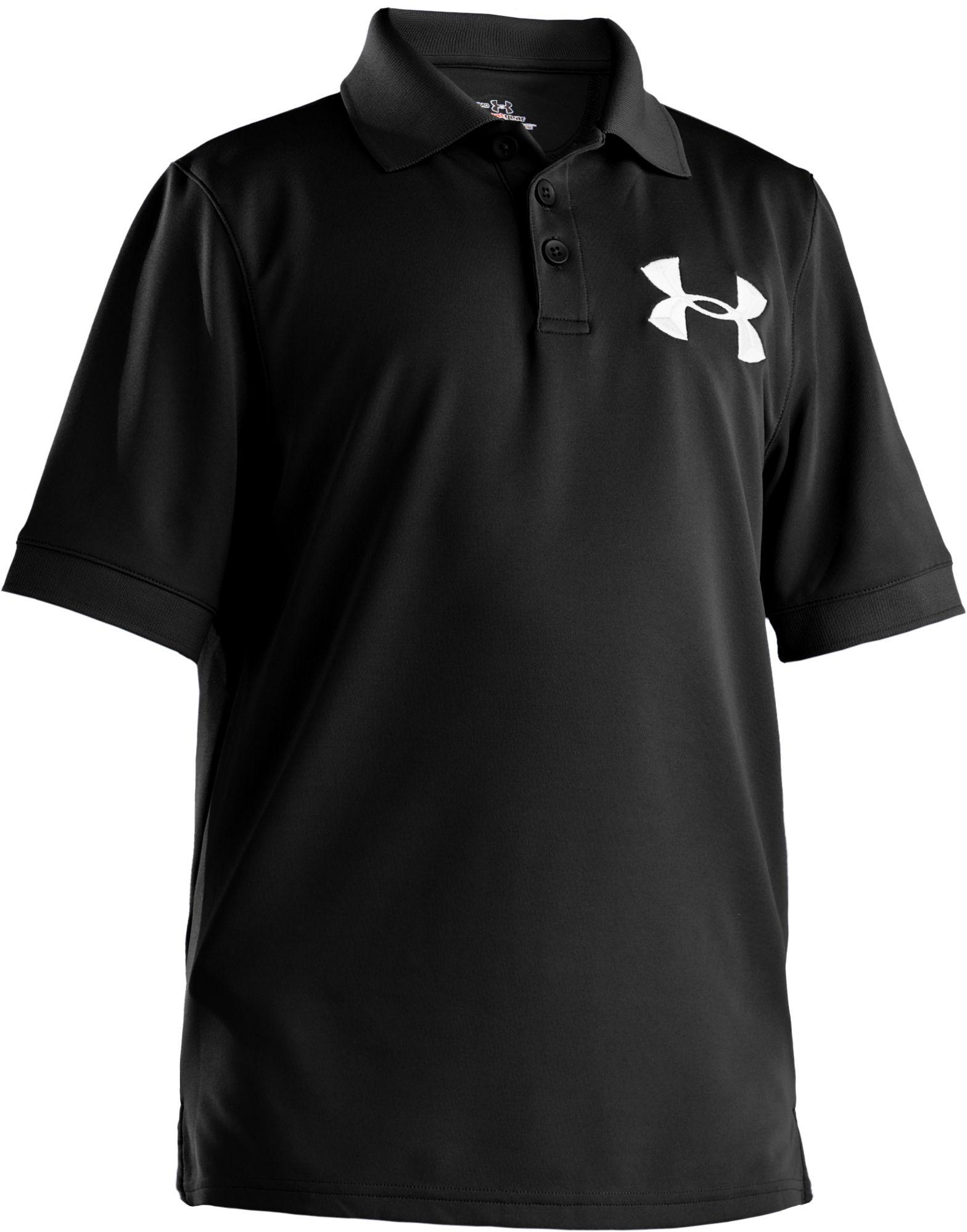 Under Armour Boys Big Logo Polo Golf
