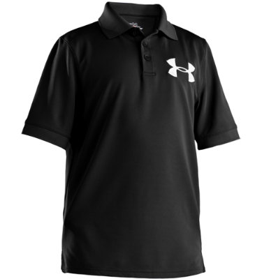 Under Armour Boys' Big Logo Polo