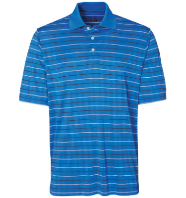 Walter Hagen Men's Ross Stripe Short Sleeve Polo