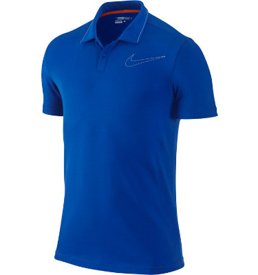 Nike Sport Men's Dri-FIT UV Jersey Swoosh Short Sleeve Polo