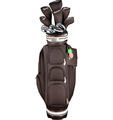 ADAMS GOLF Women's Editor's Choice Lynne Complete Set - Brown