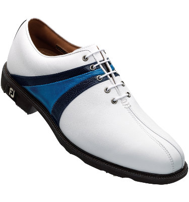 FootJoy Men's ICON Golf Shoe - White/Blue