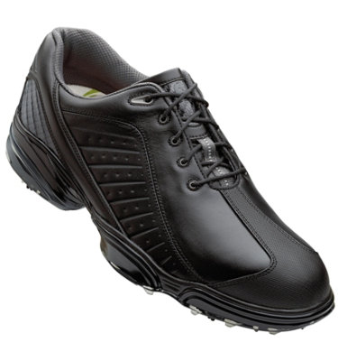 FootJoy Men's Sport Golf Shoe - Black/Charcoal (Disc Style 53221)
