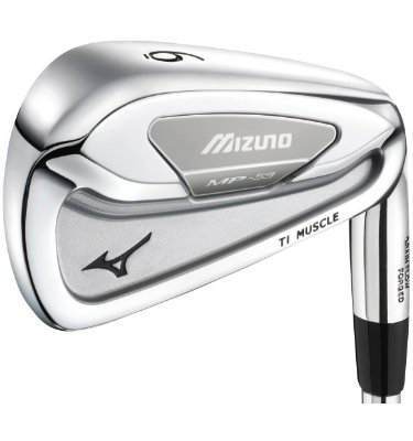 Mizuno Men's MP-59 Irons - (Steel) 3-PW