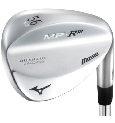 Mizuno Men's MP R-12 Wedge - White Satin Chrome Finish