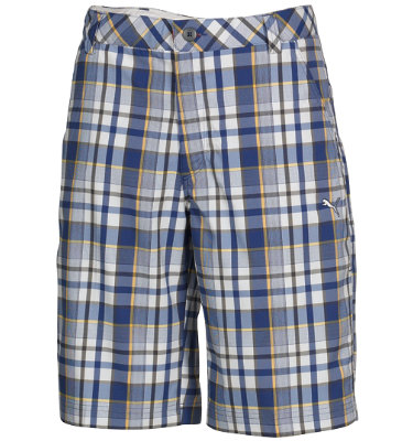 PUMA Men's Tech Plaid Bermuda Short