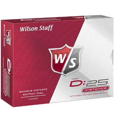 Wilson Staff D:25 Golf Balls - 12 pack