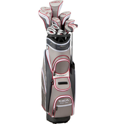 ADAMS GOLF Women's IDEA a12 OS Integrated Complete Set - Sterling