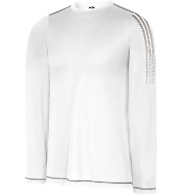 adidas Men's CLIMALITE Layering Long Sleeve Crew Neck Shirt