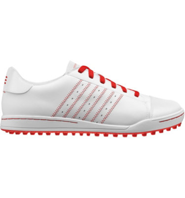 adidas Men's adicross Golf Shoe - White/Red/Red