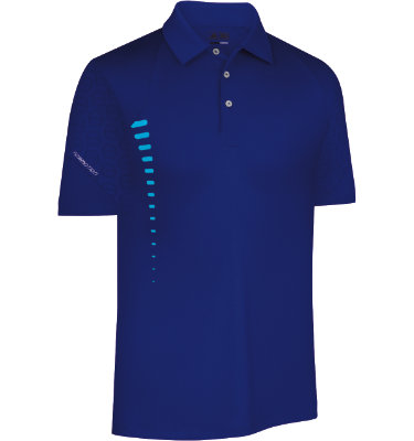 adidas Men's FORMOTION Graphic Short Sleeve Polo