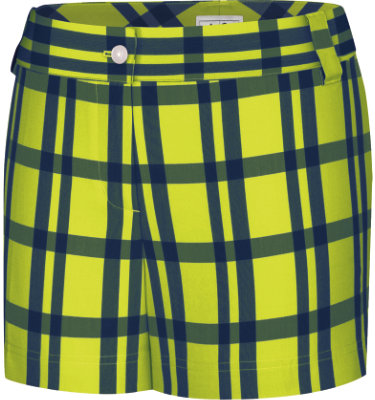 adidas Women's Fashion Performance Plaid Short