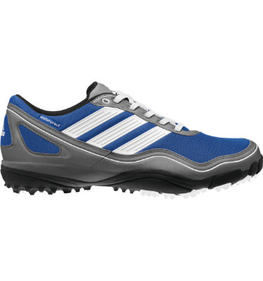adidas Men's puremotion Golf Shoe - Satellite/White/Metallic Silver