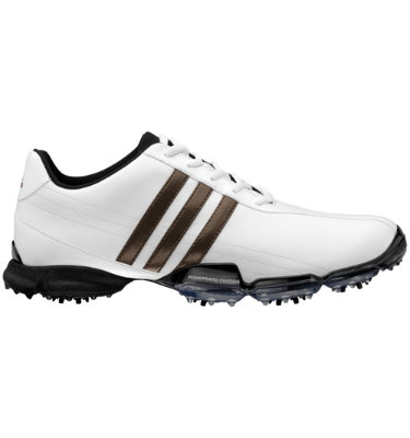 adidas Men's Powerband Grind Golf Shoe - White/Scout