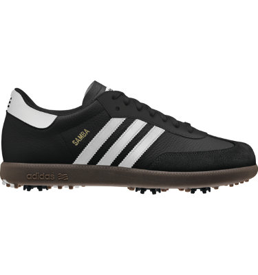 adidas Men's Samba Golf Shoe - Black/White/Gum