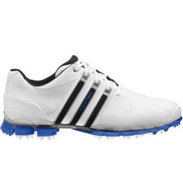 adidas Men's TOUR360 ATV Golf Shoe - White/Air Force Blue/Black