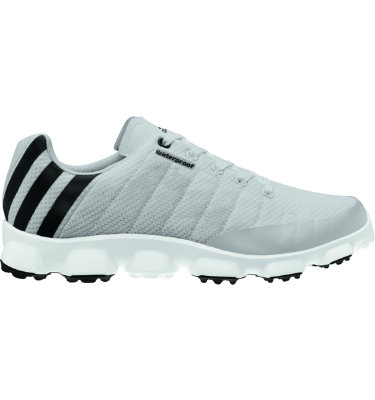 adidas Men's crossflex Golf Shoe - Light Gray/Black/White