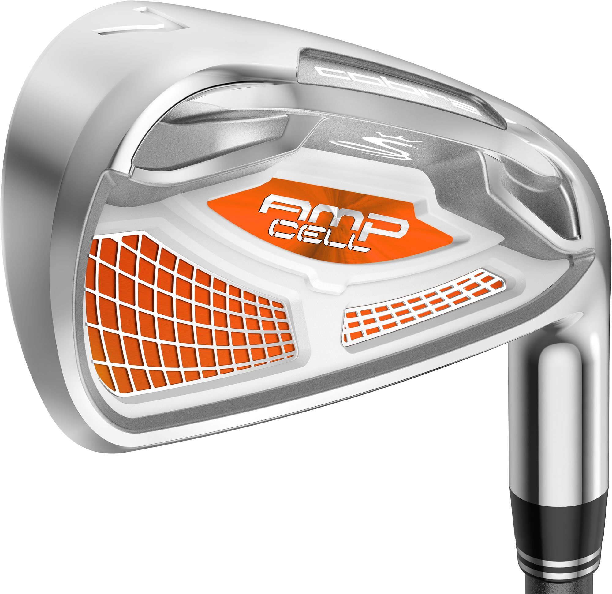 Cobra Men's AMP CELL Orange Irons - (Graphite) 4-GW