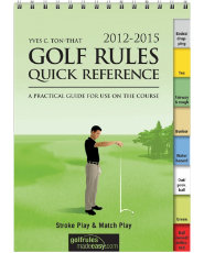 The Booklegger 2012-2015 Golf Rules Quick Reference