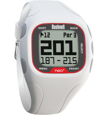 Bushnell neo+ GPS Watch - White