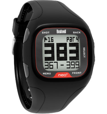 Bushnell neo+ GPS Watch - Black