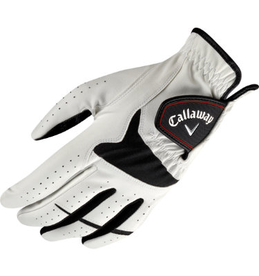 Callaway Men's XTT XTREME 2-Pack Golf Glove - White/Black