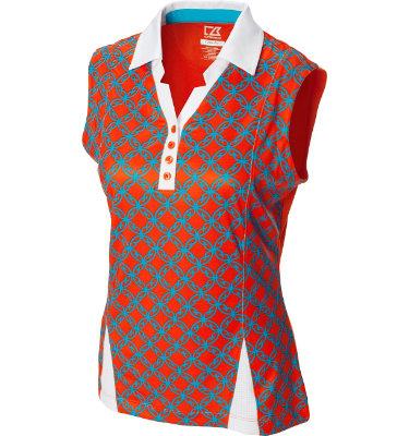 Cutter & Buck Women's Drytec Dana Sleeveless Polo