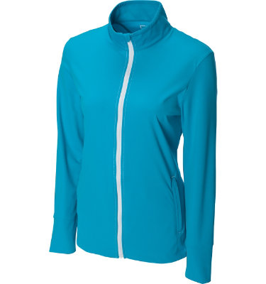 Cutter & Buck Women's Drytec Flaunt Full-Zip Long Sleeve Jacket