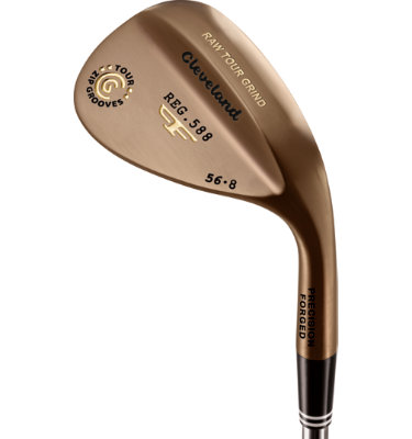 Cleveland Men's 588 Forged RTG Wedge - Oil Quench Finish