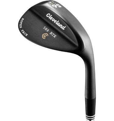 Cleveland Men's 588 RTX Wedge - Black Pearl Finish