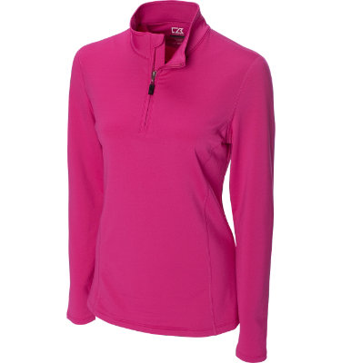 Cutter & Buck Women's CB DryTec In Motion Long Sleeve Mock Fleece