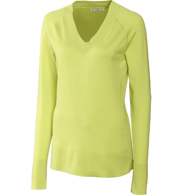Cutter & Buck Women's Meridian V-Neck Sweater