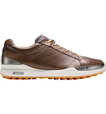 ECCO Men's BIOM Hybrid Golf Shoe - Cocoa/Fanta