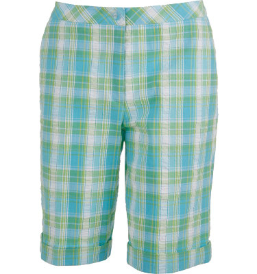 EP Pro Women's St. John Seersucker Plaid Short