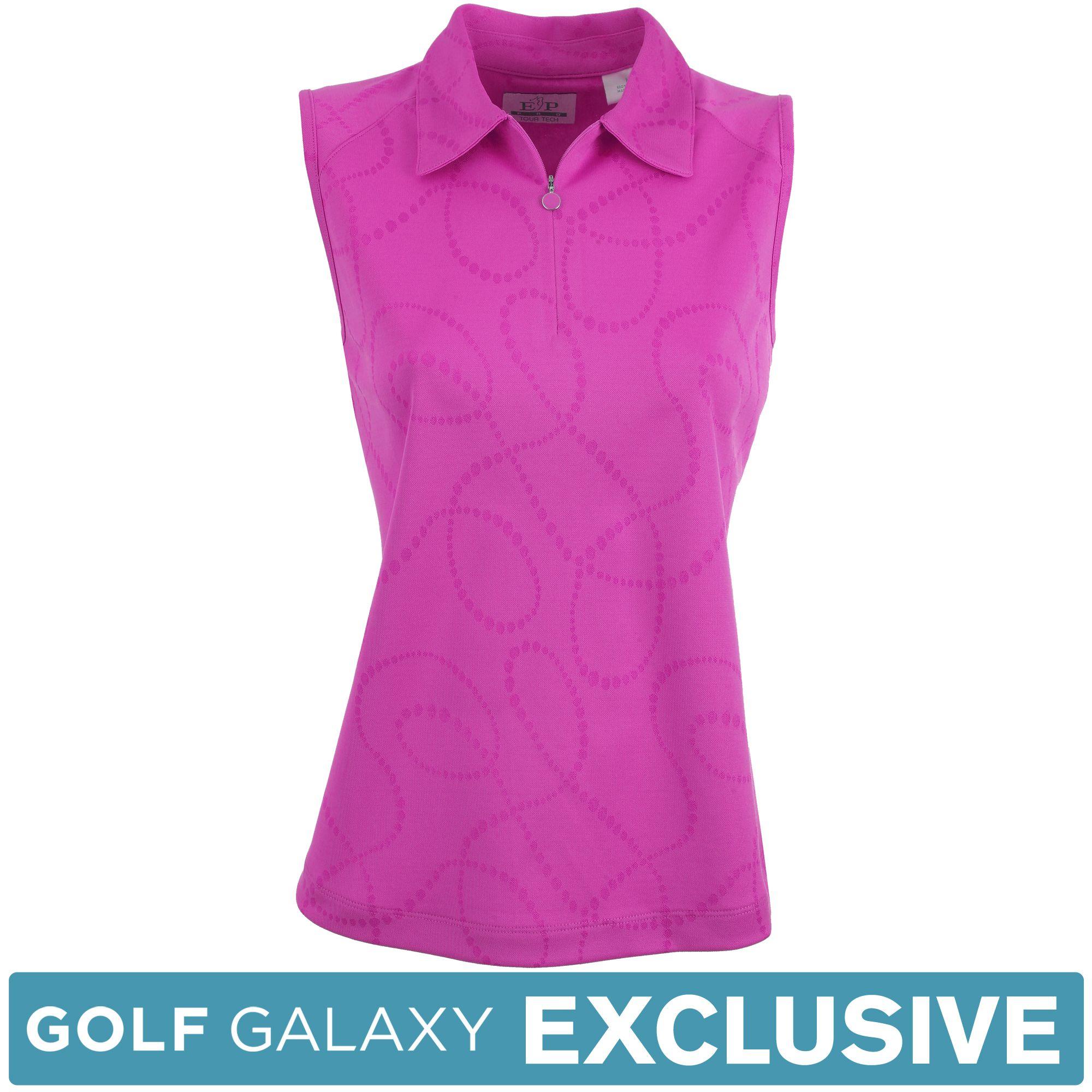 EP Pro Women's Tour-Tech Pearl Print Sleeveless Polo