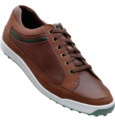 FootJoy Men's Contour Casual Golf Shoe - Brown/Green