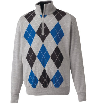 FootJoy Men's Performance Lined Bar Harbor Long Sleeve Sweater