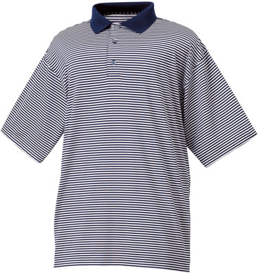 FootJoy Men's ProDry Performance Lisle Striped Short Sleeve Polo