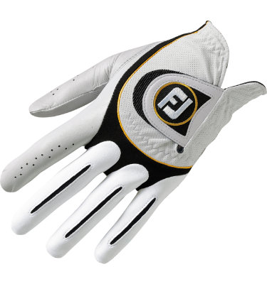 FootJoy Men's SciFlex Golf Glove - Pearl/Black