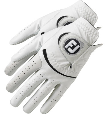 FootJoy Men's SofJoy 2-Glove Bonus Pack Golf Glove - White
