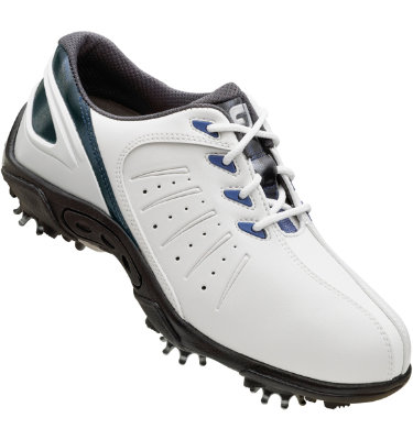 FootJoy Juniors' Sport Golf Shoe - White/Blue
