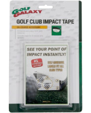 Golf Galaxy Impact Tape