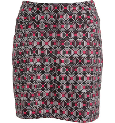 Jofit Club Women's Printed Geometric Mina Skort