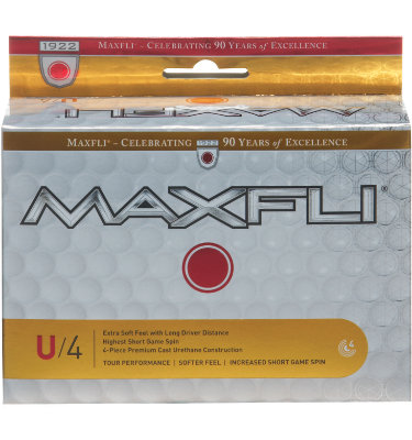 Maxfli U/4 Golf Balls - 6 pack