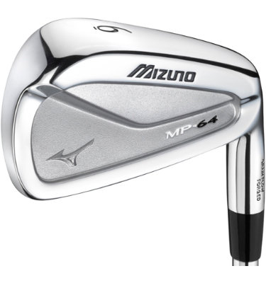 Mizuno Men's MP-64 Irons - (Steel) 3-PW