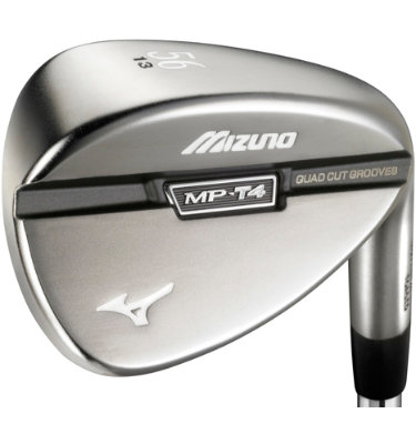 Mizuno Men's MP-T4 Black Nickel Wedge