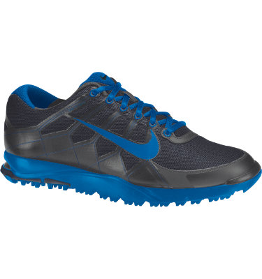 Nike Men's Air Range II Waterproof Golf Shoe - Dark Grey/Photo Blue/Midnight Fog