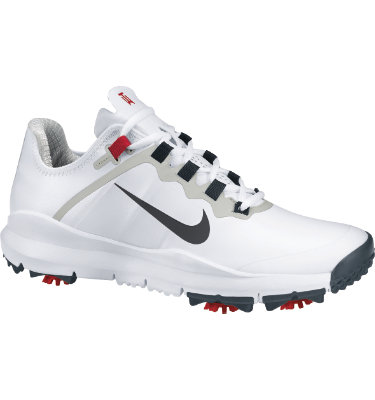 Nike TW 13 Golf Shoe - White/Red