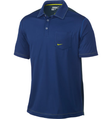 Nike Men's Body Mapping Pocket Short Sleeve Polo