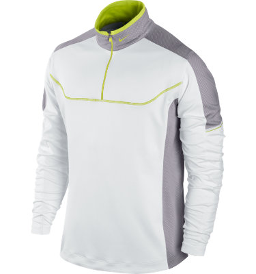 Nike Golf Men's Colorblock ½-Zip Mock Neck Long Sleeve Pullover